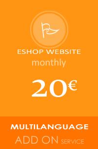EShop Website multi language add on service